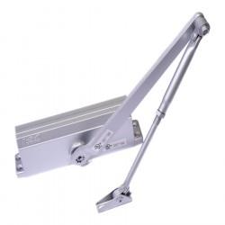 Доводчик дверной NORA-M №4S морозостойкий до 120кг серый 604grey