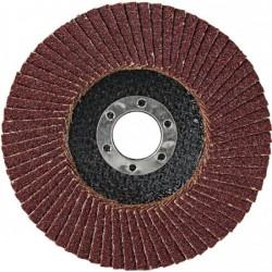 Круг лепестковый торцевой для МШУ 125*22мм Р80 (Луга)