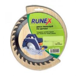 Диск пильный по дереву 180*24 зуб 20/16мм Runex 551006.