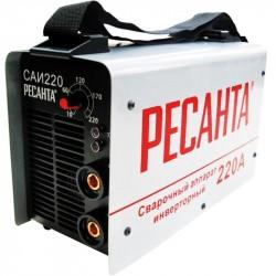 Инвертор сварочный Ресанта САИ 220 (220 А, электрод 2-5мм, ПВ=70%, мощ=6600ватт, Uв=180-240 в) 65/3
