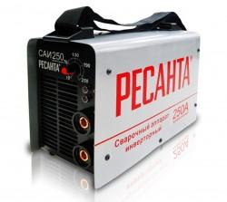 Инвертор сварочный Ресанта САИ 250 (250 А, электрод 2-6 мм, ПВ=70%, мощ=7700ватт, Uв=180-240 в) 65/6