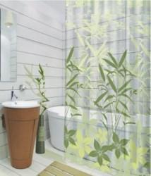 Занавеска для ванной 180*180см Grass, ПЕВА SWENSA