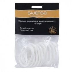 Набор колец 12шт белый SWENSA