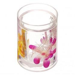 Стакан для зубных щеток Орхидея 337-01