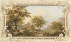 Декор 30*50 Rotterdam beige 03
