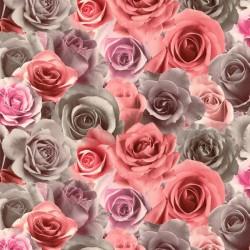 Обои 714-45 Палитра флизелин 1,06*10м цветы, розовый