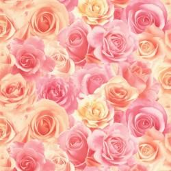 Обои 714-55 Палитра флизелин 1,06*10м цветы, розовый