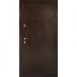 Дверь металлическая ДК Комфорт беленый дуб 860*2050 Л