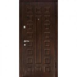 Дверь металлическая ДК Люкс беленый дуб 860*2050 Пр