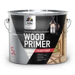 Грунтовка Dufa Wood PRIMER для деревянных фасадов 5л