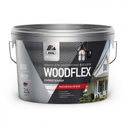 Краска DUFA PREMIUM WOODFLEX для деревянных фасадов 2,5л