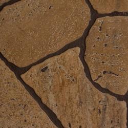 Панель стеновая МДФ 1,22*2,44*0,006м КаменьКоричневый