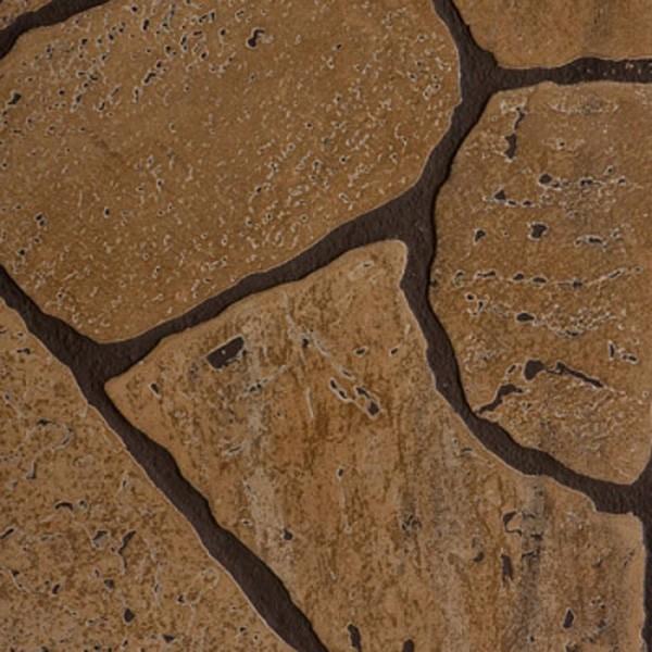 панель стеновая мдф 1,22*2,44*0,006м камень коричневый