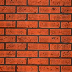 Панель стеновая МДФ 1,22*2,44*0,006м КирпичКрасный Обожженый