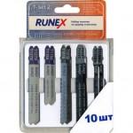 Набор пилок для лобзика 10шт по дереву и металлу Т-SET-2 Runex 555806