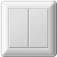 Выключатель 2кл Вессен 59 с/у белый VS516-252-18