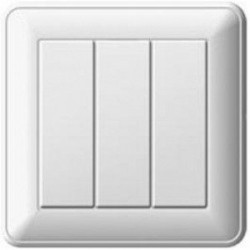 Выключатель 3кл Вессен 59 с/у белый VS0516-351-18