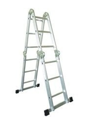 Лестница 4 секции по 5 ступеней, 5,69/2,76/1,44/0,34м, 150кг, 5445