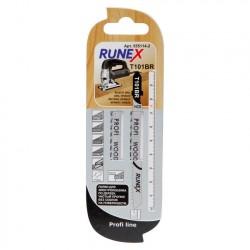 Набор пилок для лобзика 2шт по дереву Т101BR 100*75мм RUNEX 555114-2