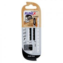 Набор пилок для лобзика 2шт по дереву T244D 100*75мм RUNEX 555111-2