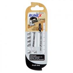 Набор пилок для лобзика 2шт по дереву Т101АО 75*50мм RUNEX 555110-2