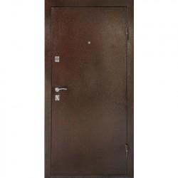 Дверь металлическая ДК Комфорт беленый дуб 860*2050 Пр