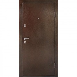 Дверь металлическая ДК Комфорт беленый дуб 960*2050 Пр