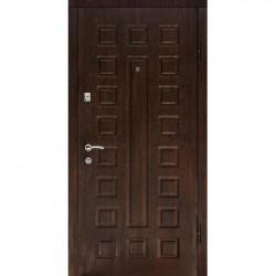 Дверь металлическая ДК Люкс беленый дуб 960*2050 Пр