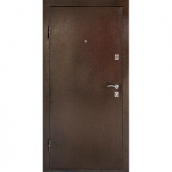 Дверь металлическая ДК Комфорт беленый дуб 960*2050 Л