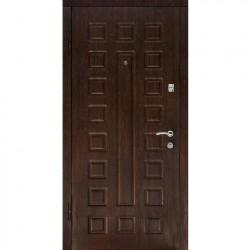 Дверь металлическая ДК Люкс беленый дуб 860*2050 Л