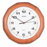 Часы настенные кварцевые ENERGY модель ЕС-15 многоугольные