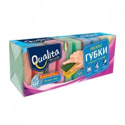 Губки для посуды Qualita PROFILE 5шт