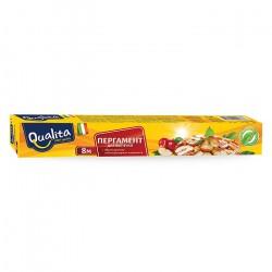 Пергамент для выпечки QUALITA 8м*30см в коробке