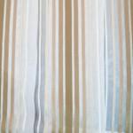 Тюль Полоса вертикальная 60040/6 4,0*2,5м, на тесьме коричневый