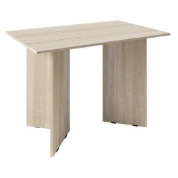 Стол обеденный Дуб сонома (1,1*0,7*0,750) ЛДСП Опора