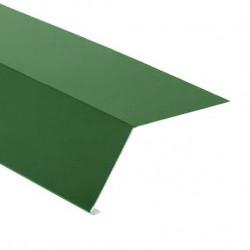 Планка карнизная 100*65 RAL 6005 зелен.