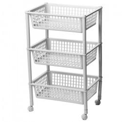 Этажерка для хранения овощей /3 секции/ М2730 (003540)