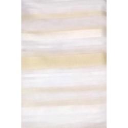 Тюль Полоса вертикальная 00174/002 3,0*2,5м, на тесьме бело-молочный