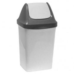 Контейнер для мусора СВИНГ 9л мраморный