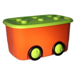 Ящик для игрушек МОБИ оранжевый