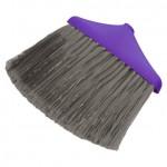 Щетка для уборки мусора МЕГА с длинным ворсом фиолетовый