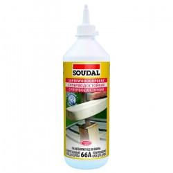 Клей SOUDAL №66А для дерева полиуретановый суперводостойкий D4 250гр