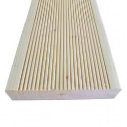 Террасная доска АВ, хвоя, 36 х 135 х 3000 мм (3 шт)
