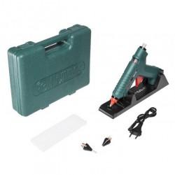 Пистолет для горячего склеивания Hammer Flex GN-06 80 (15) Вт 22г/мин диаметр 11,2 мм, кейс, насадки