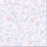 Плитка потолочная Звездопад 8/3 фиолетовый/розовый 8шт