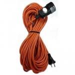 Удлинитель-шнур 40м 1гн 6А (ПВС 2х0,75)  У-40