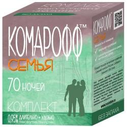 Комплект КОМАРОФФ от комаров /фумигатор + жидкость 45мл /на 70 ночей защита/