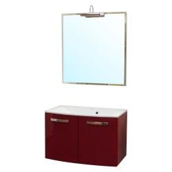 Комплект мебели 80см IKA Лион красный
