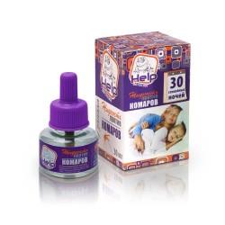 Жидкость от комаров HELP без запаха 30 ночей инсектицидная