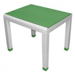 Стол детский зеленый (0,6*0,5*0,49)
